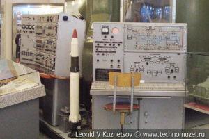 Фрагмент рабочего места оператора комплекса Р-16 в Центральном музее Вооруженных Сил