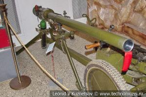 73-мм гранатомет СПГ-9 Копье образца 1963 года в Центральном музее Вооруженных Сил