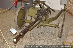 14,5-мм пулемет системы Владимирова образца 1949 года на станке Харитонова в Центральном музее Вооруженных Сил