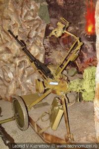 12,7-мм пулемет НСВ Утес в Центральном музее Вооруженных Сил