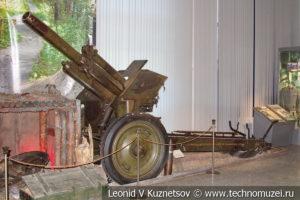 122-мм гаубица образца 1938 года №3422 в Центральном музее Вооруженных Сил