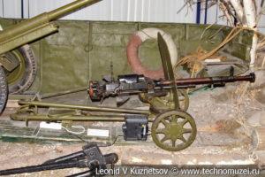 12,7-мм пулемет ДШК в Центральном музее Вооруженных Сил