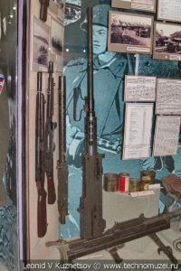 Американский 12,7-мм пулемет Браунинг образца 1932 года в Центральном музее Вооруженных Сил