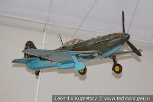 Истребитель Як-3 в Центральном музее Вооруженных Сил
