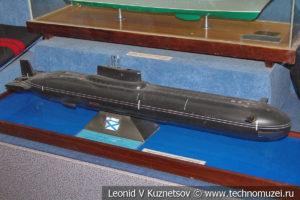 Тяжелый атомный подводный ракетный крейсер проекта 941 в Центральном музее Вооруженных Сил