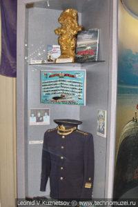 Стенд памяти АПЛ К-141 Курск в Центральном музее Вооруженных Сил
