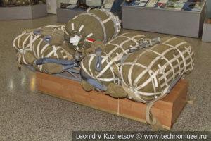 Многокупольная парашютная система МКС-5-128Р в Центральном музее Вооруженных Сил