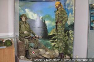 Диорама В Аргунском ущелье в Центральном музее Вооруженных Сил