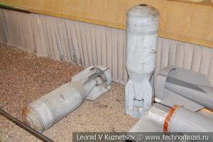 Макеты уничтожаемых химических боеприпасов в Центральном музее Вооруженных Сил