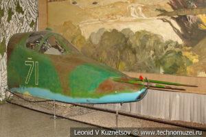 Кабина бронированного штурмовика Су-25 в Центральном музее Вооруженных Сил