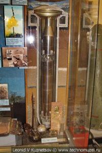 Шахтная стартовая позиция с баллистической ракетой в Центральном музее Вооруженных Сил