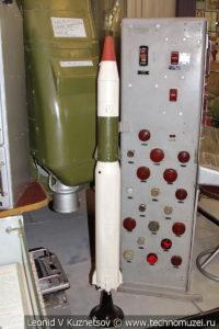 Модель ракеты Р-16 в Центральном музее Вооруженных Сил
