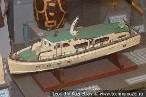 Модель яхты Гранма подарок от Рауля Кастро в Центральном музее Вооруженных Сил