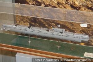 Крейсерская подводная лодка проекта 675 МКВ в Центральном музее Вооруженных Сил