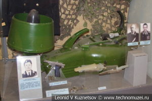 Индивидуальный буксировщик Тритон для водолазов-разведчиков в Центральном музее Вооруженных Сил