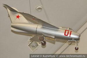 Модель МиГ-15 в Центральном музее Вооруженных Сил