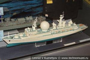 Корабль командно-измерительного комплекса Маршал Неделин в Центральном музее Вооруженных Сил