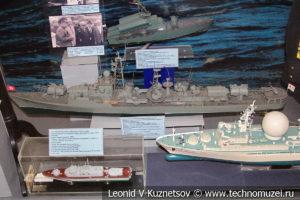 Большой ракетный корабль проекта 57 бис в Центральном музее Вооруженных Сил
