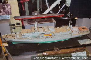 Спасательное судно носитель глубоководных аппаратов проекта 537 в Центральном музее Вооруженных Сил