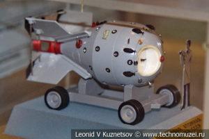 Первая советская атомная бомба в Центральном музее Вооруженных Сил