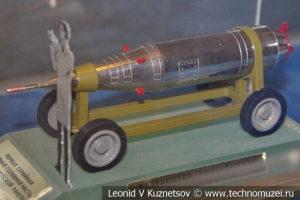 Первая серийная ядерная боеголовка тактической ракеты в Центральном музее Вооруженных Сил