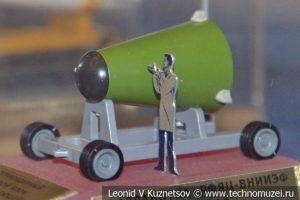 Термоядерный боевой блок разделяющейся головной части стратегической ракеты в Центральном музее Вооруженных Сил