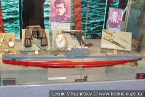 Макет подводной лодки типа Л в Центральном музее Вооруженных Сил