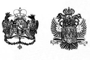 Тосканские гербы на австрийской пушке армии Наполеона