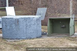 Советский пулеметный бронеколпак в Музее на Поклонной горе