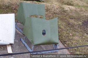 Советские пехотные бронещитки в Музее на Поклонной горе