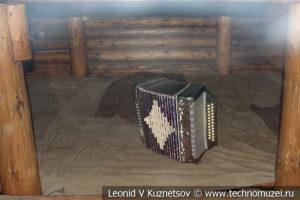 Землянка в траншее в Музее на Поклонной горе