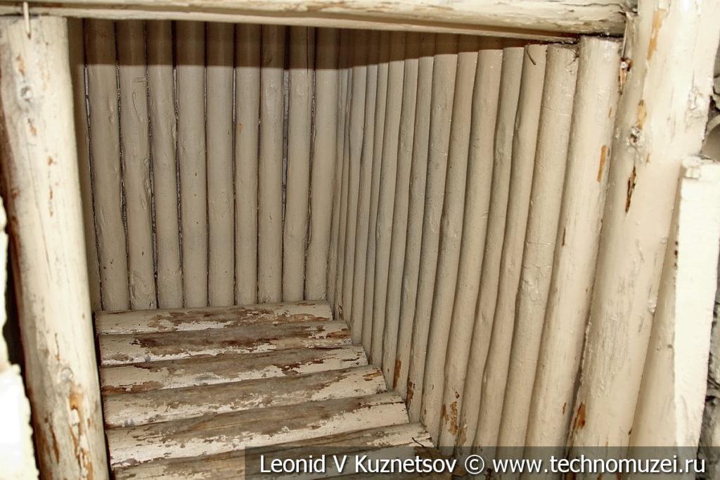 Подбрустверная ниша в траншее в Музее на Поклонной горе