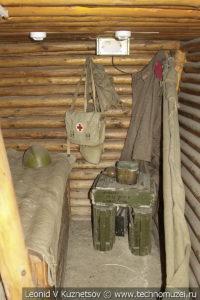 Подбрустверный блиндаж в траншее в Музее на Поклонной горе