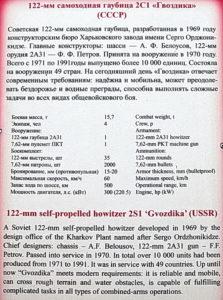 122-мм самоходная гаубица 2С1 Гвоздика в Музее на Поклонной горе