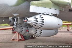 Истребитель-бомбардировщик Су-17УМ3 в Музее на Поклонной горе