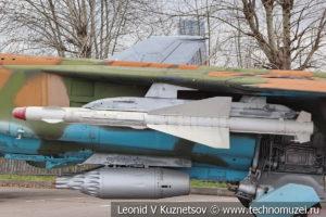 Штурмовик Су-25 в Музее на Поклонной горе