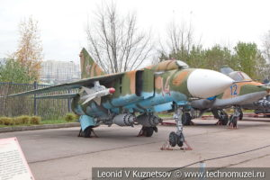Истребитель МиГ-23СМ в Музее на Поклонной горе