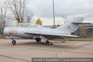 Истребитель МиГ-15Ути в Музее на Поклонной горе