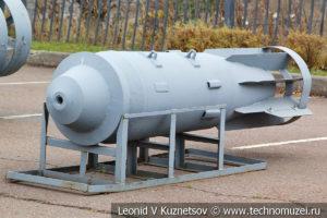 Фугасная толстостенная авиационная бомба ФАБ-15000 – 2500тс в Музее на Поклонной горе