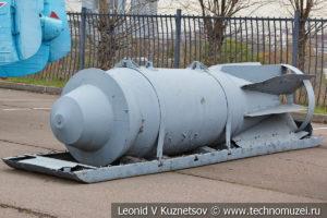 Фугасная авиационная бомба ФАБ-9000М54 в Музее на Поклонной горе
