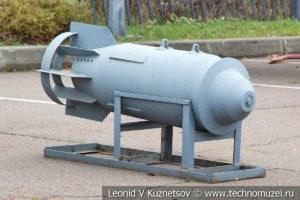 Фугасная авиационная бомба ФАБ-500М-54 в Музее на Поклонной горе