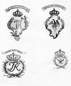 Гербы на прусских пушках армии Наполеона