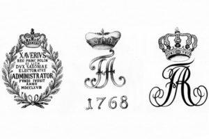 Гербы на саксонских пушках армии Наполеона