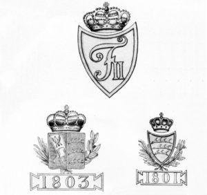 Гербы на вюртембергских пушках армии Наполеона