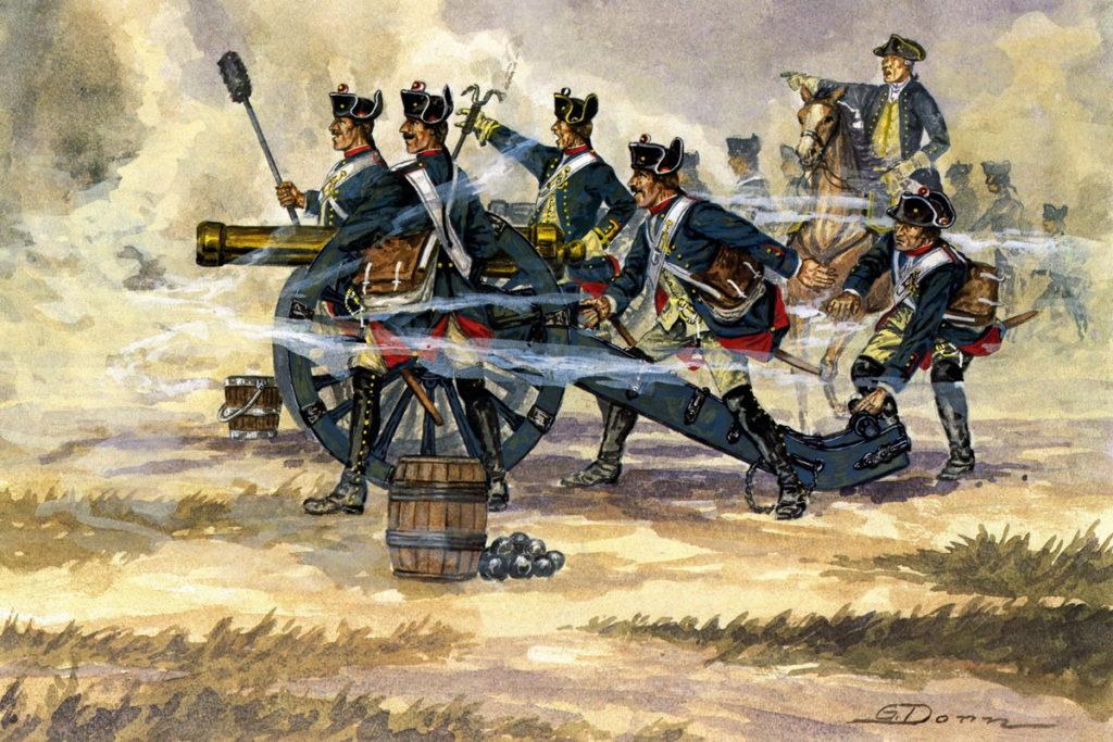 Прусская артиллерия в Семилетней войне