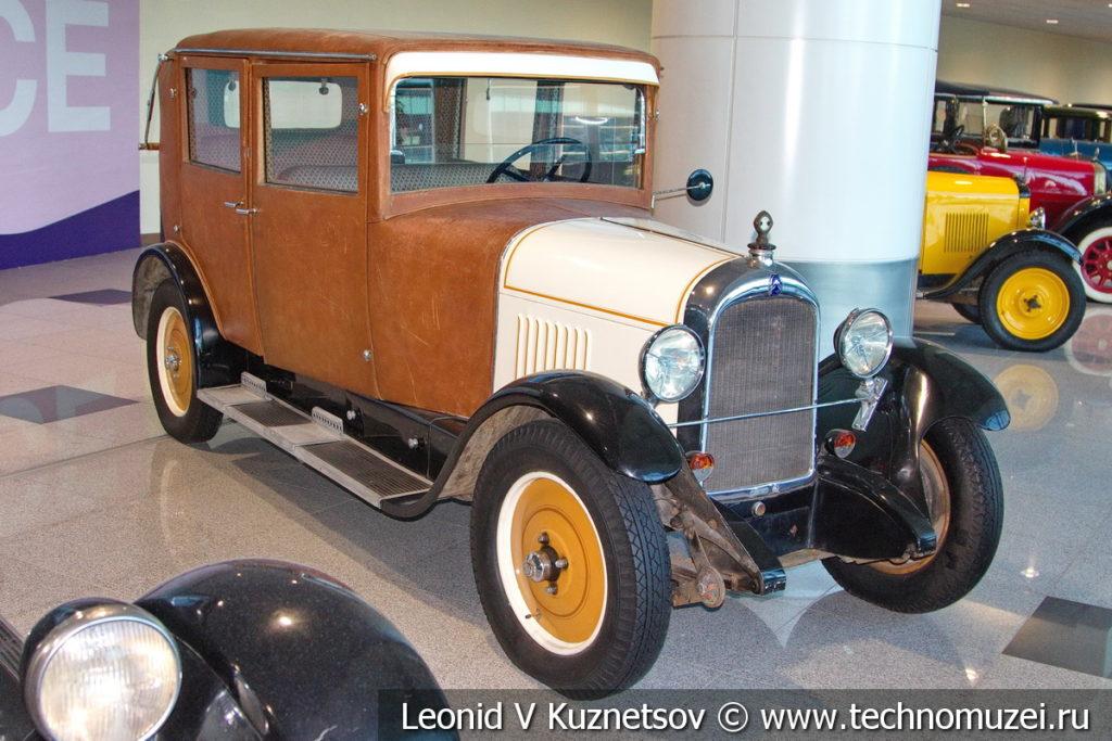 Citroen B 14 на выставке ретро автомобилей в аэропорту Домодедово