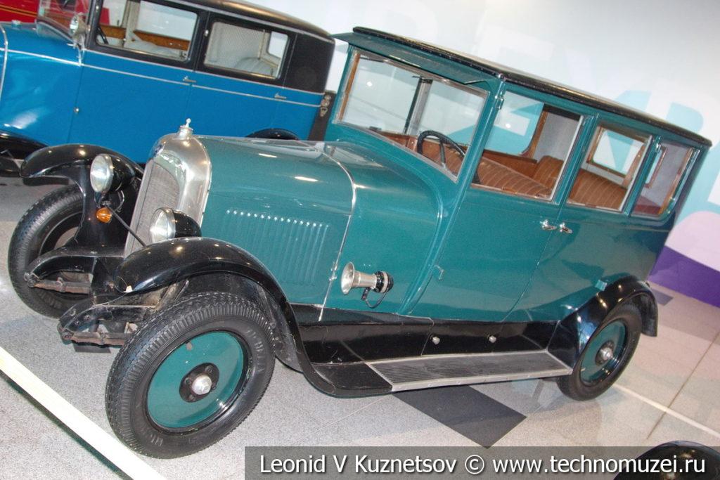 Citroen Model B Conduite interiore на выставке ретро автомобилей в аэропорту Домодедово