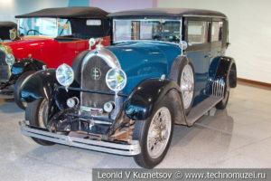 Lorraine-Dietrich B36 на выставке ретро автомобилей в аэропорту Домодедово