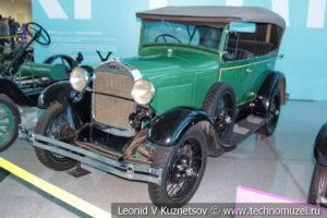 Ford Model A Phaeton на выставке ретро автомобилей в аэропорту Домодедово