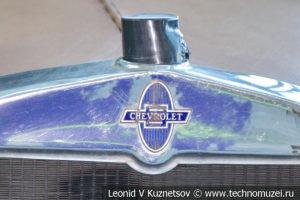 Chevrolet AC Open Tourer на выставке ретро автомобилей в аэропорту Домодедово